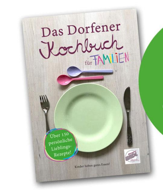 Umschlaggestaltung: Das Dorfener Kochbuch zum Jubiläum der Metzgerei Widl