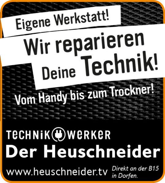 Der Heuschneider, Anzeige von Svenja Tremmel derart, Handy defekt